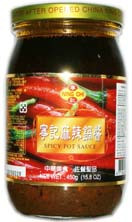 70124	SPICY HOT SAUCE	NING CHI 12/16.5 OZ