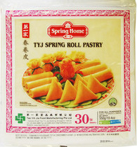 "91268	""SPRING ROLL 10"""" WRAPPER""	SPRING HOME 30/30 PC"