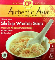 91358	COOKED SHRIMP WONTON SOUP	C.P 12/5 PCS