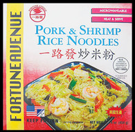 91408	RICE NOODLE PORK & SHRIMP	FORTUNE AVE 12/14.5 OZ