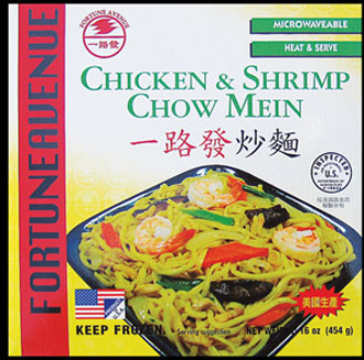 91416 Ck Shrimp Chao Mien Fortune Ave 12 16 Oz Well Luck Co Inc