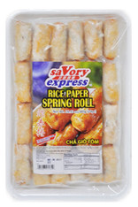 91535	RICE PAPER SPRING ROLL	SAVORY EXPRESS 20/24PCS/20G