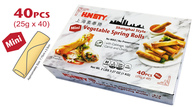 91571	VEGETABLE SPRING ROLL	HUNSTY 10/40PCS/25G