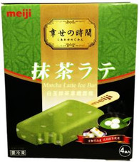 91607	ICE BAR MATCHA LATTE	MEIJI 8/4 PCS
