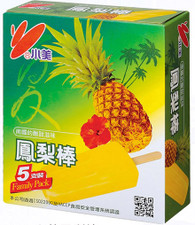 91694	ICE BAR PINEAPPLE	CHIAO MEI 6/5 PC