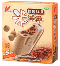 91697	ICE BAR LOGAN RED BEAN RICE	CHIAO MEI 6/5 PC