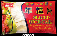 92092	SLICED RICE CAKE	HUNSTY 20/2 LB