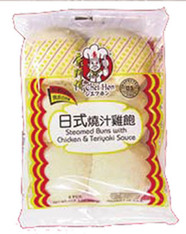 94466	STEAMED BUNS W/CK&TERIYAKI SAU	PEKING #95 12/6 PCS