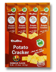 43732  POTATO CRACKER BBQ FLAVOR CHACHA 4/12/51g