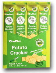 43734  POTATO CRACKER WASABI FLAVOR CHACHA 4/12/51g