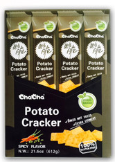 43736  POTATO CRACKER SPICY FLAVOR CHACHA 4/12/51g