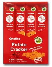 43733  POTATO CRACKER TOMATO FLAVOR CHACHA 4/12/51g