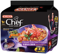 42812 CREAMY TOM YAM FLAVOUR MAMEE CHEF 8/4/80G