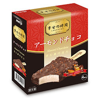 91604  ICE BAR ALMOND CHOCOLATE         MEIJI 8 / 4 PCS
