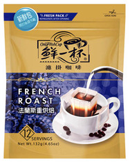 46703	COFFEE DRIP FRENCH ROAST	ONE FRESH CUP 12/12/11G
