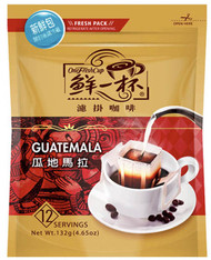46706	COFFEE DRIP GUATEMALA	ONE FRESH CUP 12/12/11G