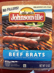 Smoked Beef Bratwurst Sausage - 6 links