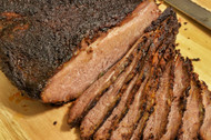 Superior Angus USDA Choice Whole Boneless Brisket Roast - 12-14 Pounds