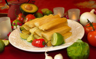 Merry Christmas Party Pack of Gourmet Tamales - FREE SHIPPING