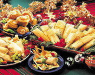 The Texas Christmas Party Pack of Gourmet Tamales - FREE SHIPPING