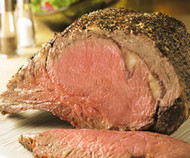 "Certified Hereford USDA Choice 3-Bone ""Prime Rib"" (Small End Bone-in Ribeye) Roast"