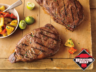 Certified Hereford USDA Choice Ribeye Steaks - 12 oz