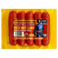 Earl Campbell's RED Hot Links/Campbells/Campbell Sausage - 9 pound