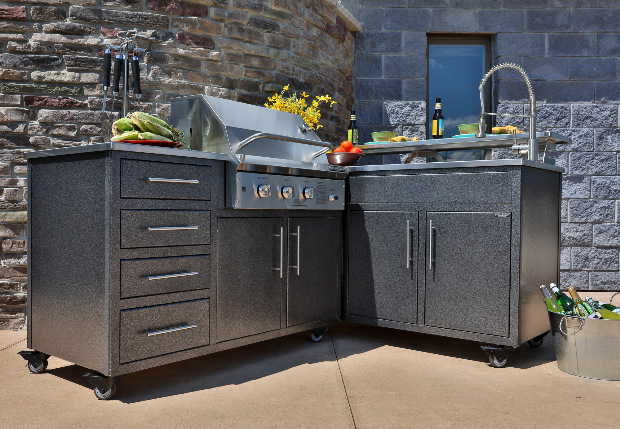 Outdoor Modular Kitchen