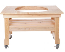 Primo PRM602 Compact Cypress Table For Oval XL400 Grill