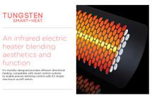 BH0420004 Tungsten 4000 Watt Electric Patio Heater