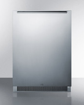 Summit CL65ROS Classic Collection Frost-Free Built-In  or Freestanding Refrigerator With Door Storage
