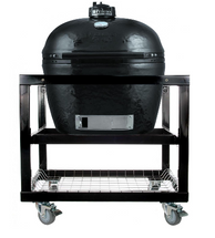 Primo PRC778368 Primo XL Smoker BBQ Grill And Cart With Basket Storage Package