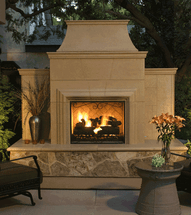 AFD882 Grand Cordova Outdoor Premium Fireplace