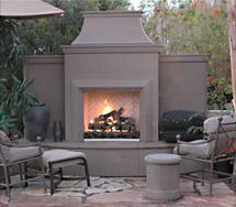 AFD865 Grand Petite Cordova Outdoor Premium Fireplace