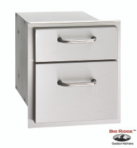 Fire Magic 33802 Select 14 Inch Double Drawer