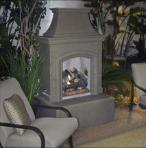 AFD010 Chica Outdoor Fireplace