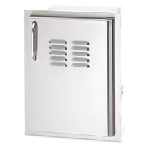 Fire Magic 33820-TSR Select 14 Inch Right-Hinged Single Access Door With Propane Tank Tray and Louvers