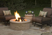 AFD680 Chiseled Round Fire Pit