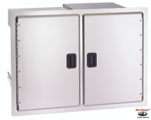 Fire Magic 23930S-12 Legacy 30 Inch Double Doors With Dual Drawers & Trash Tray
