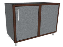 Challenger Blind Corner Base Module With One Door & Inside Shelf Includes Countertop & Finished Back-Mix & Match To Design Your Own Layout! Completely Finished-Choose Your Own Colors!