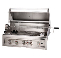 "SUN5B-IR Sunstone 5 Burner 42"" Grill With Infrared Back Burner And Rotisserie"