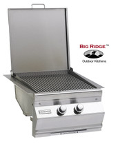 Fire Magic 3288-1 Aurora Built-In Double Searing Station/Side Burner