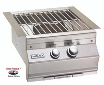 Fire Magic 19-SLB1N-0 Aurora Built-In Gas Power Burner Featuring Cast Brass Burner With Stainless Steel Grid