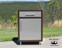 Challenger Single Drawer With One or Two Door Base Module With Countertop & Finished Back-Various Widths Available-Mix & Match To Design Your Own Layout! Completely Finished-Choose Your Own Colors!