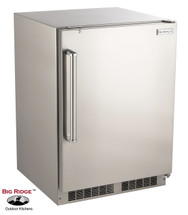 Fire Magic 3589-DR 24-Inch 6.5 Cu. Ft. Right Hinged Outdoor Built-In Stainless Steel Refrigerator