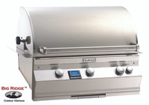 Fire Magic A540i-6EAN Aurora Built In Grill With Rotisserie Back Burner & Grill Light