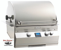 Fire Magic A430i-6EAN Aurora Built In Gas Grill With Rotisserie Backburner & Grill Light