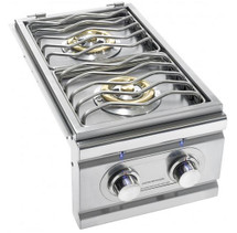 Summerset TRLSB-2 TRL Built-In Propane Or Natural Gas Double Side Burner