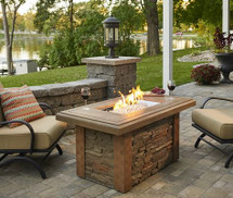 Outdoor GreatRoom Company SL-1224-M-K Sierra Linear Gas Fire Pit Table