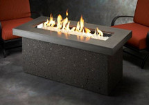 Outdoor GreatRoom Company KL-1242 Key Largo Fire Pit with Super Cast Top in Grey or Polished Brown